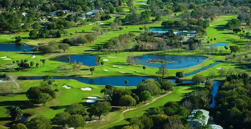 golfresa till kalifornien